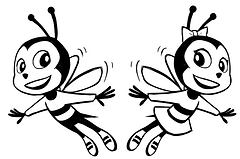 burbank bees with no words.png