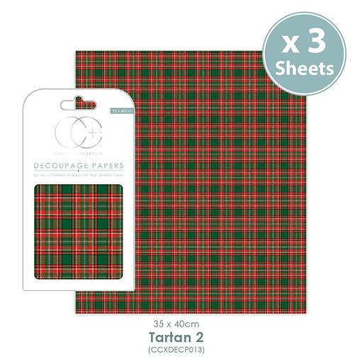 Tartan 2 - Decoupage Papers Set