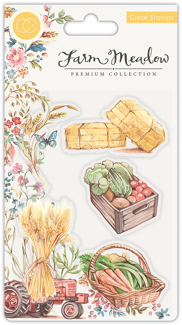 Farm Meadow - Stamp Set - Pick of the Crop