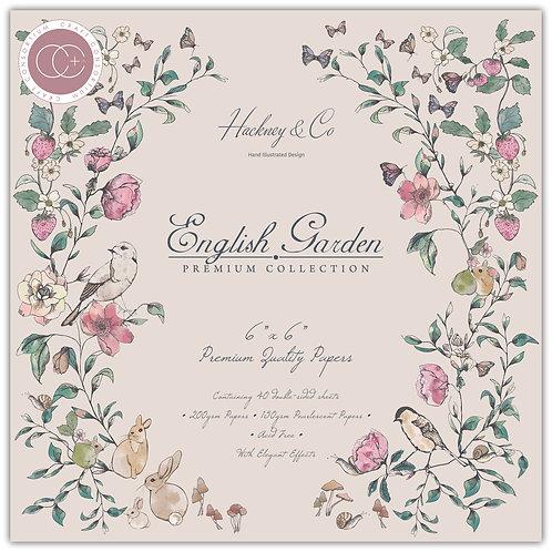 "English Garden 6""x6"" Premium Paper Pad"