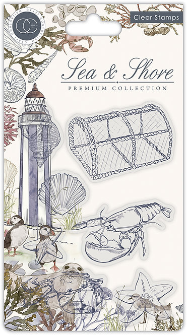 Sea & Shore - Sea - Stamp Set