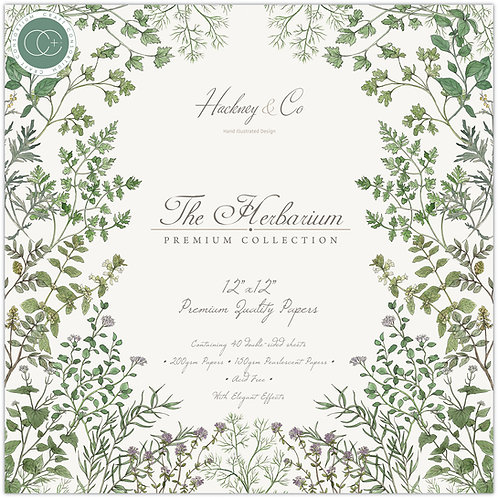 The Herbarium -  Premium Paper Pad