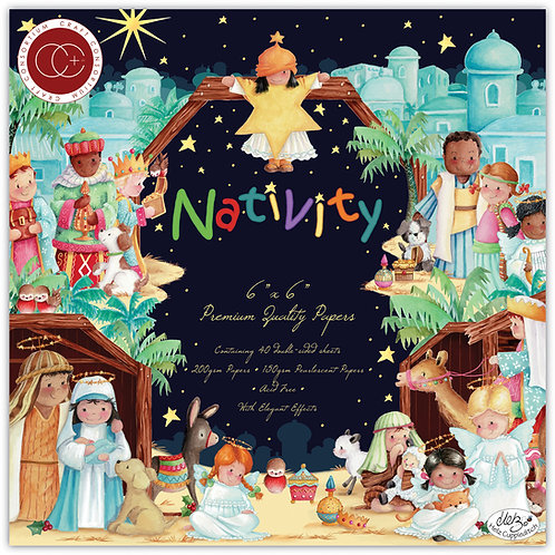 Nativity - 6x6 - Premium Paper Pad