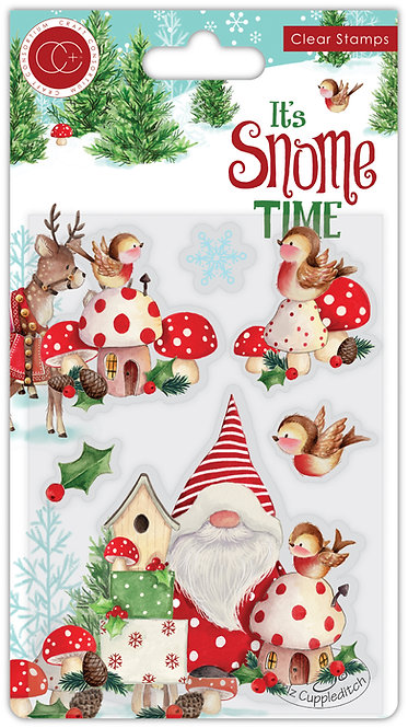 It's Snome Time - Clear Stamp Set - Robin Mischief