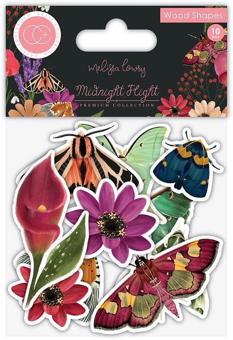 Midnight Flight - Wood Shapes