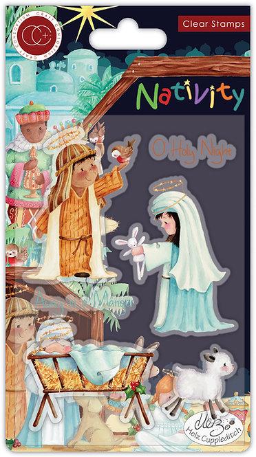 Nativity - Stamp Set - Nativity