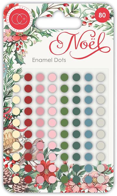 NOEL - Adhesive Enamel Dots