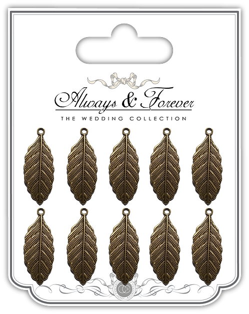 Always & Forever - Vintage Feather Charms