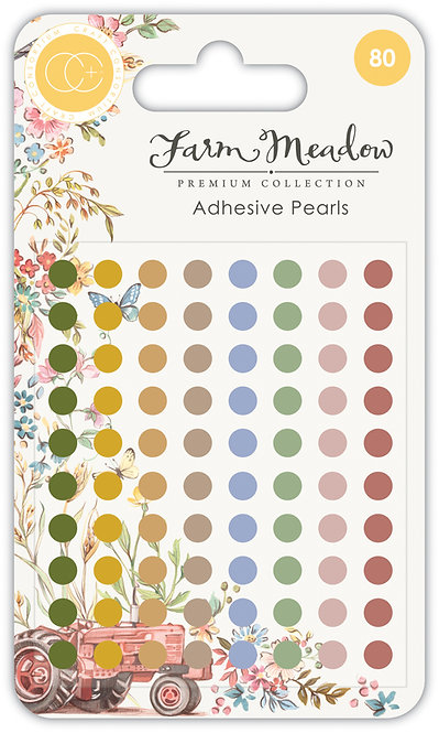 Farm Meadow - Adhesive Pearls