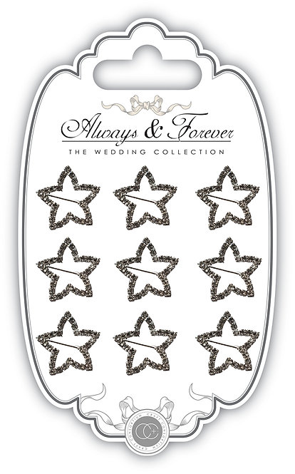 Always & Forever - Star Diamante Buckles