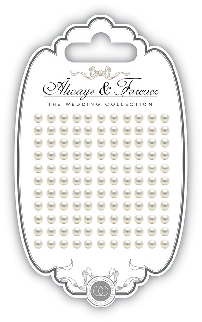 Always & Forever - Adhesive Pearls - 5mm