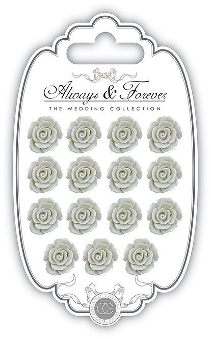 Always & Forever - Resin Flowers - Ivory