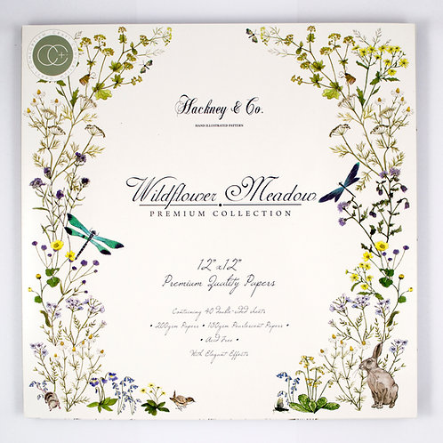 Wildflower Meadow Premium Paper Pad