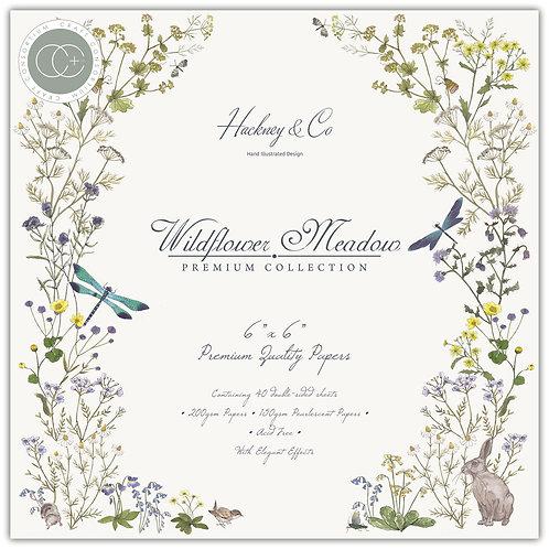 "Wildflower Meadow 6""x6"" Premium Paper Pad"