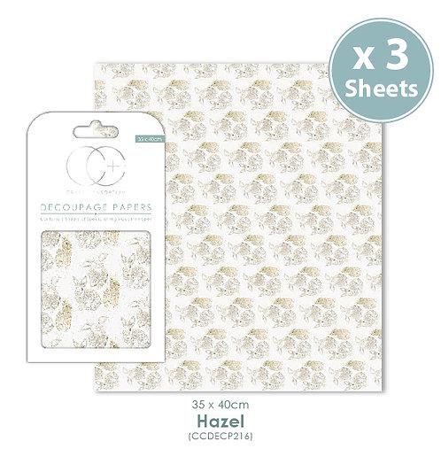 Hazel - Decoupage Papers Set