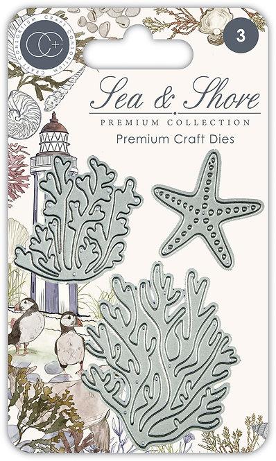 Sea & Shore - Premium Die Set