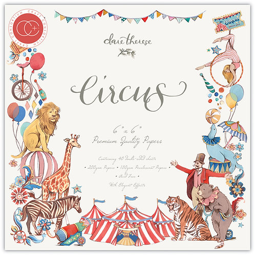 """Circus 6""""x6"""" Premium Paper Pad"""