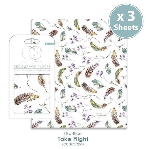 Take Flight - Decoupage Papers Set