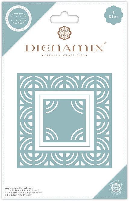 Dienamix - Iron Square - Cutting Die