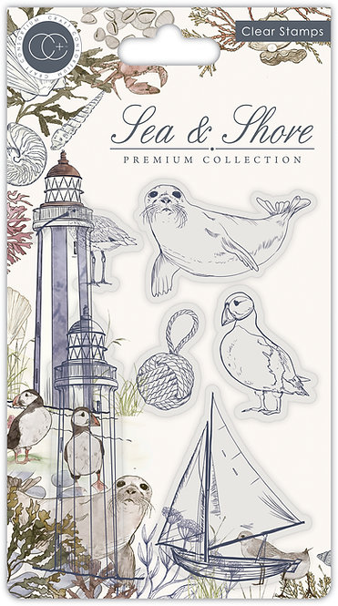 Sea & Shore - Shore - Stamp Set