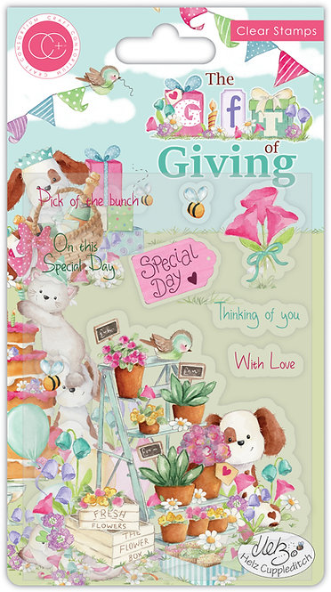 The Gift of Giving - Pick of the Bunch - Clear Stamp Set