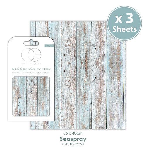 Seaspray - Decoupage Papers Set
