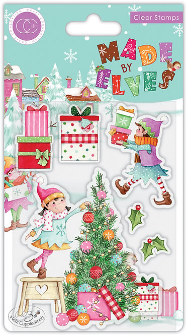 Made by Elves - Tree - Stamp Set