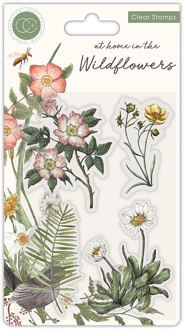 At home in the wildflowers - Flora- Stamp Set