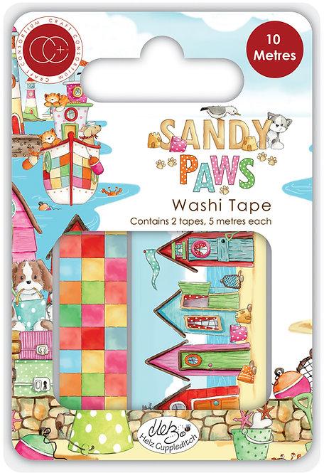 Sandy Paws - Premium Washi Tape
