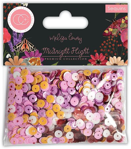 Midnight Flight - Sequins