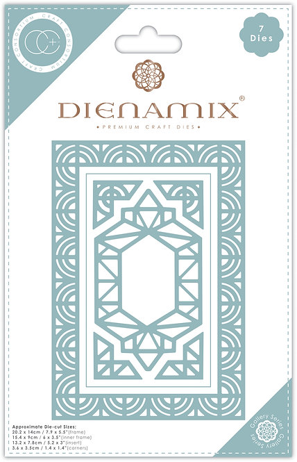 Dienamix - A5 Iron Frame - Cutting Die