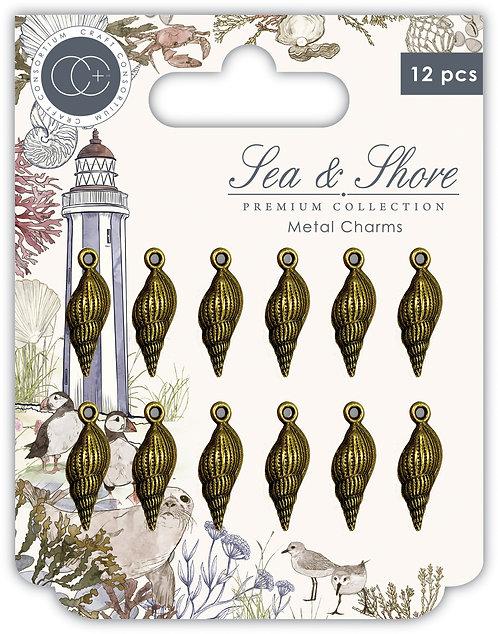 Sea & Shore - Shells - Metal Charms