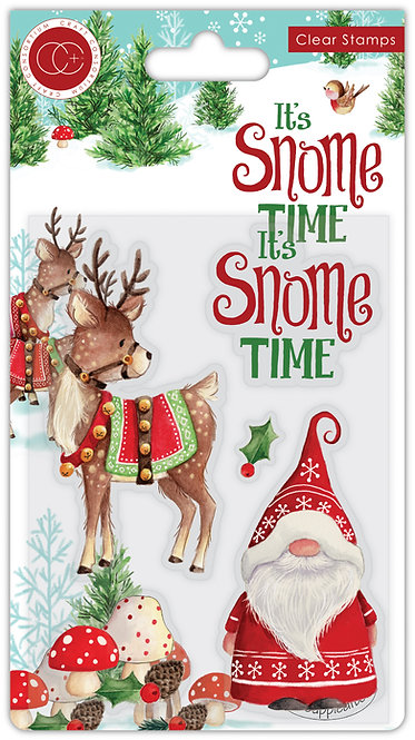 It's Snome Time - Clear Stamp Set - Snome Time