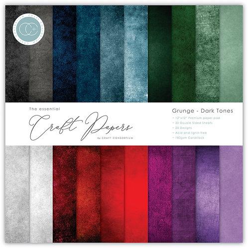 The Essential Craft Papers - Grunge - Dark Tones