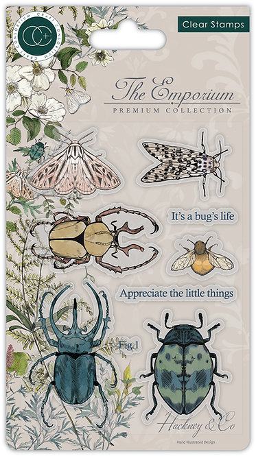 The Emporium - Beetles - Stamp Set
