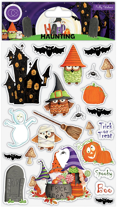 Happy Haunting - Puffy Stickers