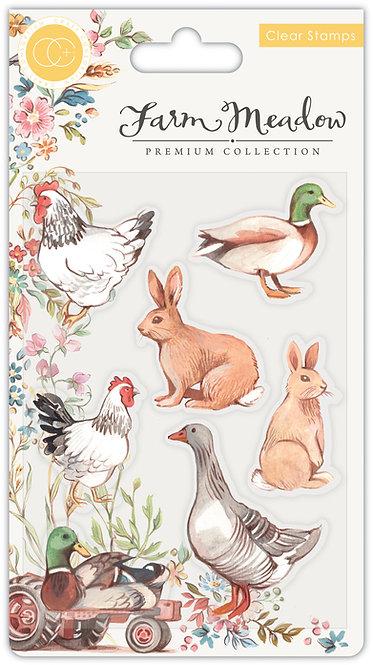 Farm Meadow - Stamp Set - Animals
