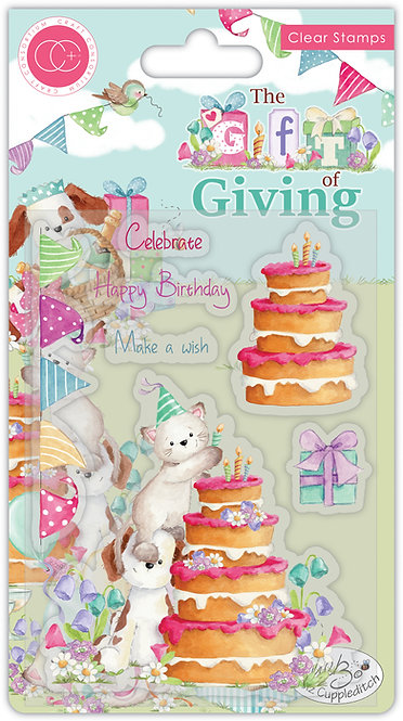 The Gift of Giving - Make a Wish - Clear Stamp Set