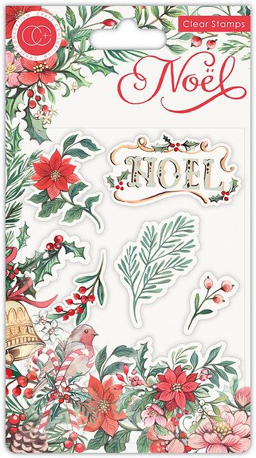 NOEL - Stamp Set - Flora