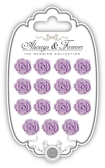 Always & Forever - Resin Flowers - Lilac