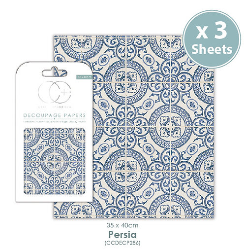 Persia - Decoupage Papers Set