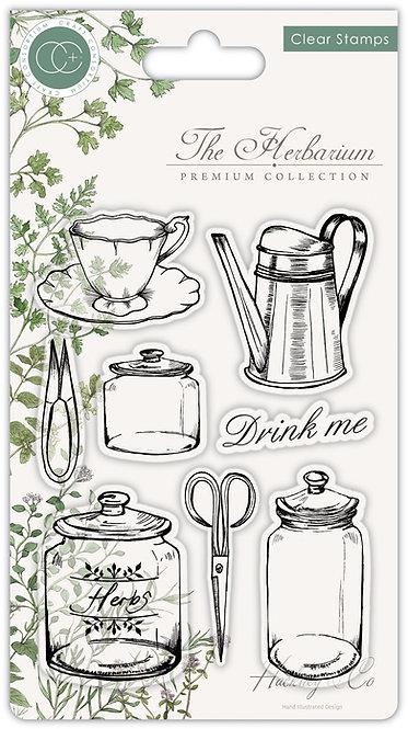 The Herbarium - Clear Stamp Set - Utensils
