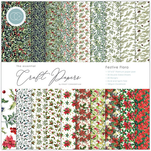 The Essential Craft Papers  - Festive Flora
