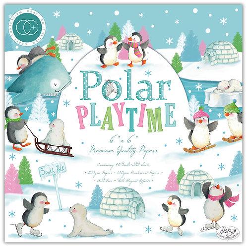 """Polar Playtime 6""""x6"""" Premium Paper Pad"""