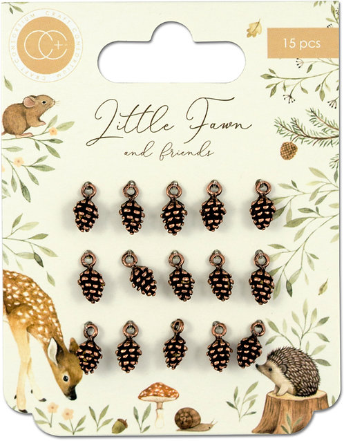 Little Fawn & Friends - Pine Comb Charms