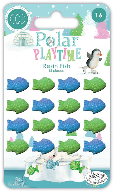 Polar Playtime - Resin Fish