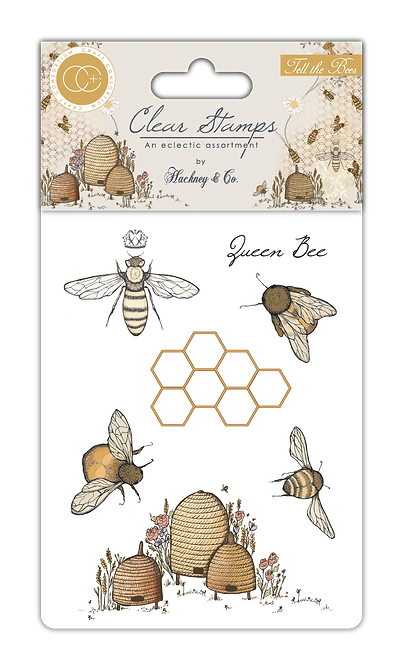 Tell the Bees - Clear Stamp Set