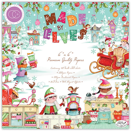 """Made by Elves - 6""""x6"""" Premium Paper Pad"""