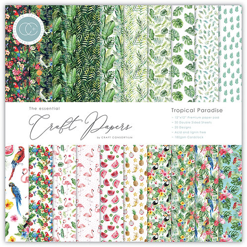 The Essential Craft Papers - Tropical Paradise