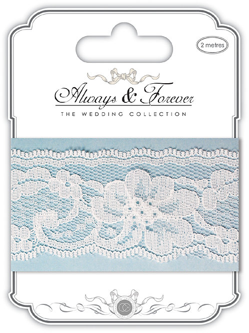 Always & Forever - Elegant Lace Ribbon - Lily